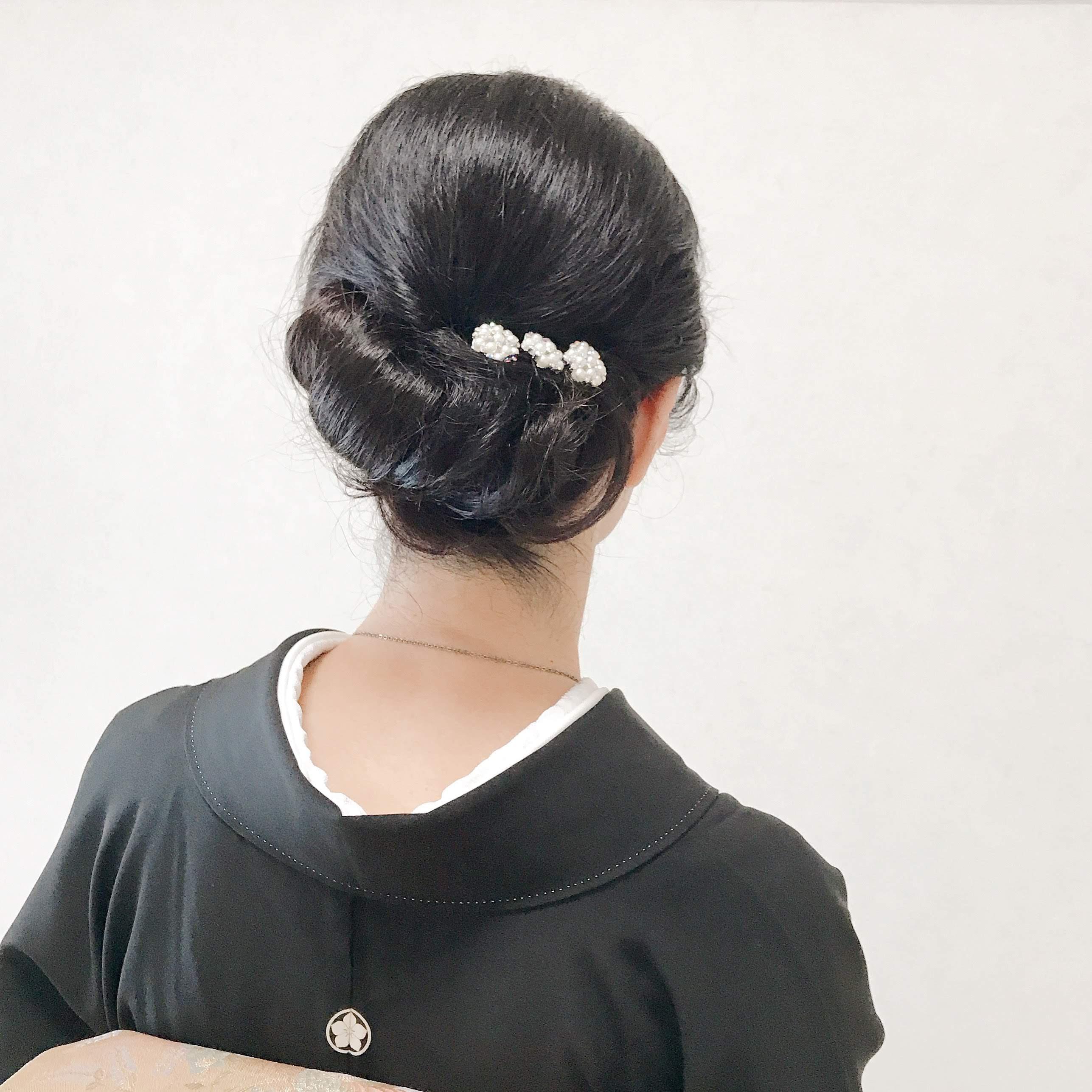 結婚式,親族,髪型,50代